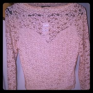 Babe Lace Top.  Size XS NWT